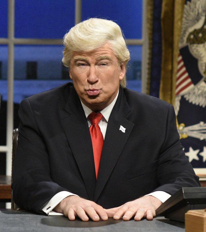 """There's no shortage of material at """"SNL"""" this season when it comes to Donald Trump."""