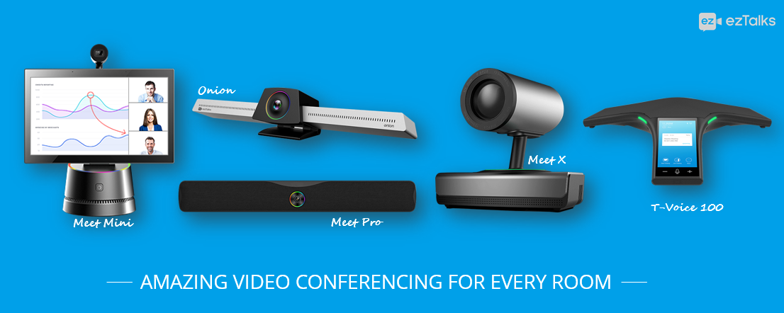 ezTalks Video Conferencing Rooms Solutions Are Open to Pre-order