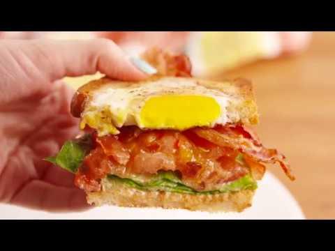 BLT Eggy Bread