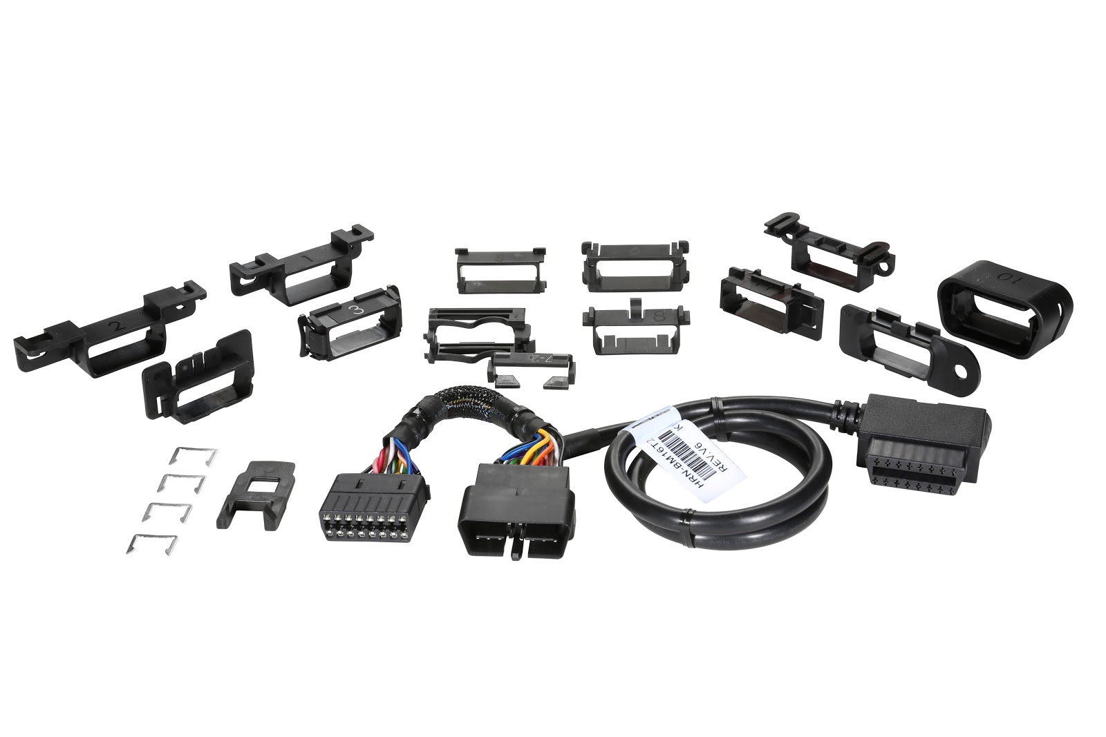 Geotab Hrn Gs16k2 Documentation 3 Circuit Universal Wiring Harness Kit The Is An Obdii T With Twelve Mounting Brackets For Connecting A Go Device To Most Light Duty And Medium Vehicles