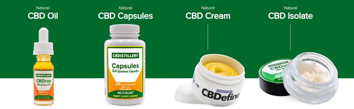 CBD Istillery Product