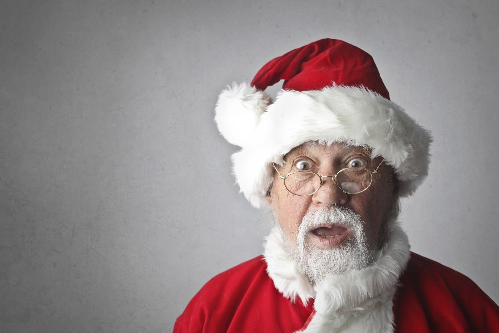 Shocked Santa Clause