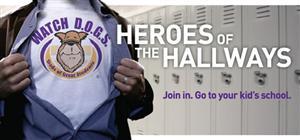 Watch DOG logo, Heroes of the Hallways
