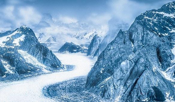 Mountains, Mountain, Snow, Winter
