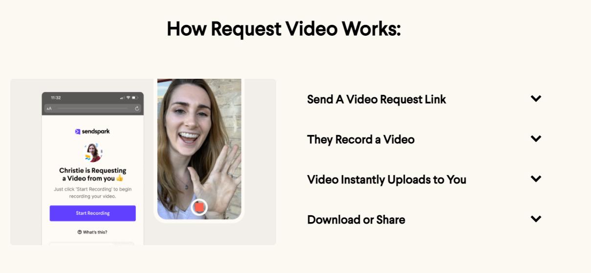 Sendspark Request Video
