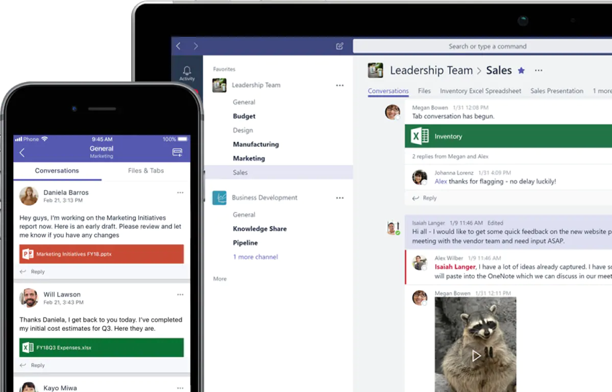 Microsoft Team - Team Communication Apps