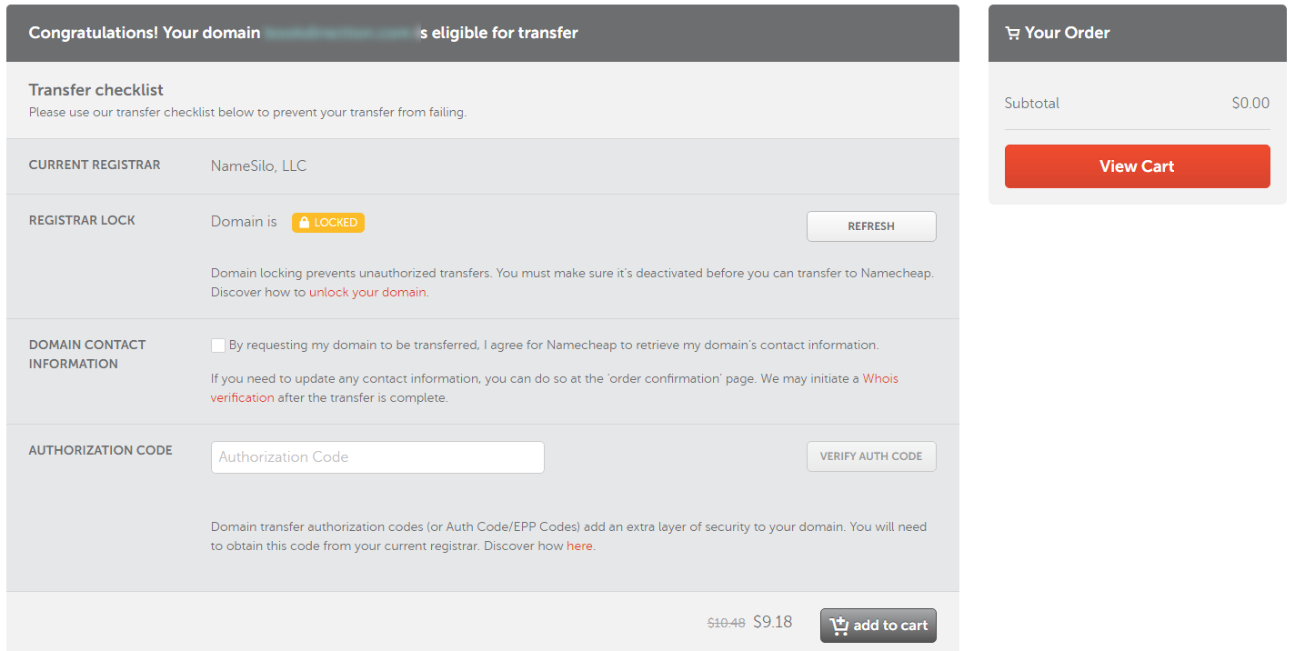 How To Transfer Domain To Namecheap in 2022