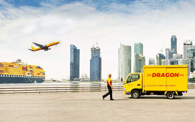 Chuyển phát nhanh đi Mỹ DHL có thời gian giao nhận hàng nhanh