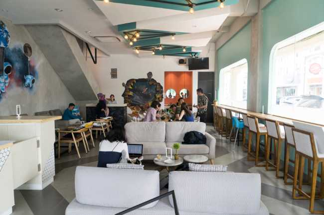 Coworking space di Gading Serpong: Start Space