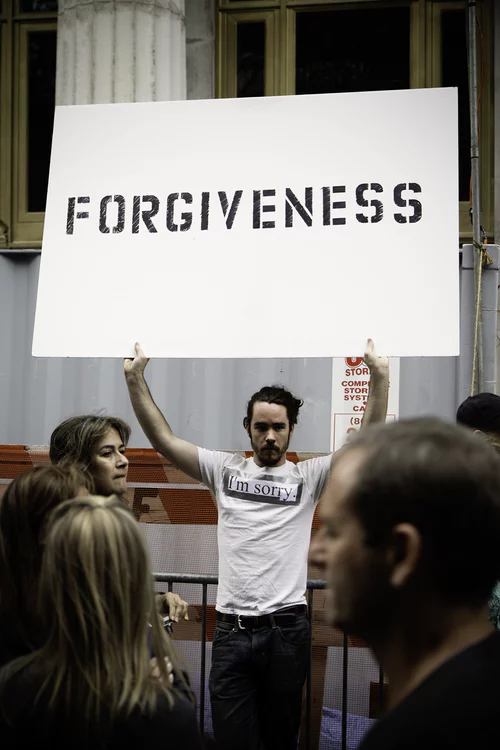 Forgiveness Activities (list)
