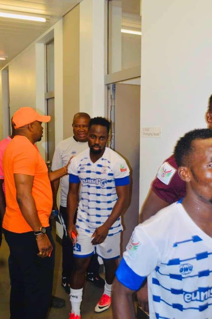 Samuel Afful Returns From Injury Ready for NPFL Second Round Action