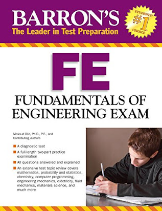 U649 Book] Free PDF Barron's FE Exam, 3rd Edition: Fundamentals of