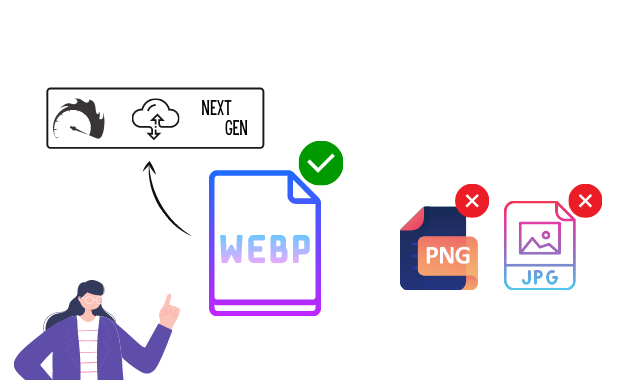Why Should We Use WebP Image Formats in Websites instead of JPEG and PNG?