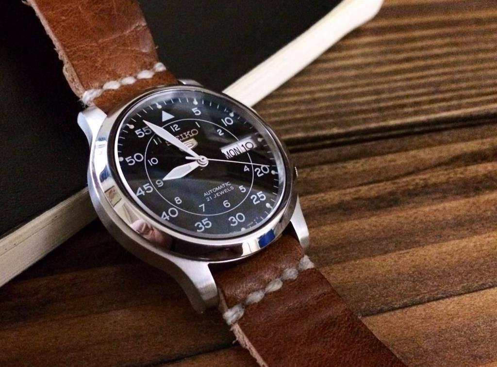 Kinh nghiệm mua đồng hồ seiko dây da chuẩn nhất