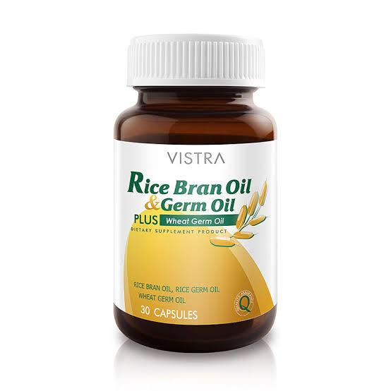 4. VISTRA RICE BRAN OIL & GERM OIL (วิสทร้า ไรซ์ บราน ออยล์)