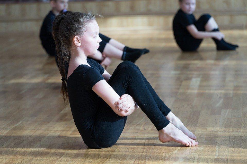 Дети, Гимнастика, Спортивные Танцы, Тренировка