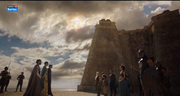 Escena de la serie 'Juego de Tronos' en Níjar