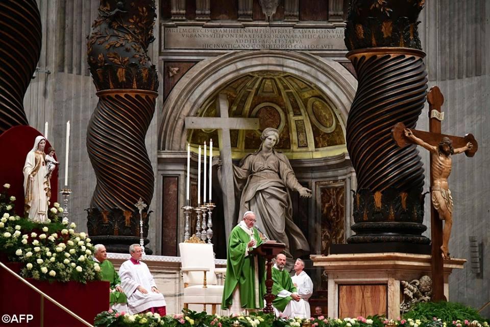 Bài giảng của Đức Thánh Cha trong Năm Thánh của Các Tù Nhân