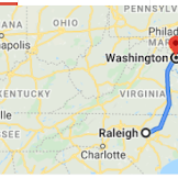 How Far Is Boston From Dc
