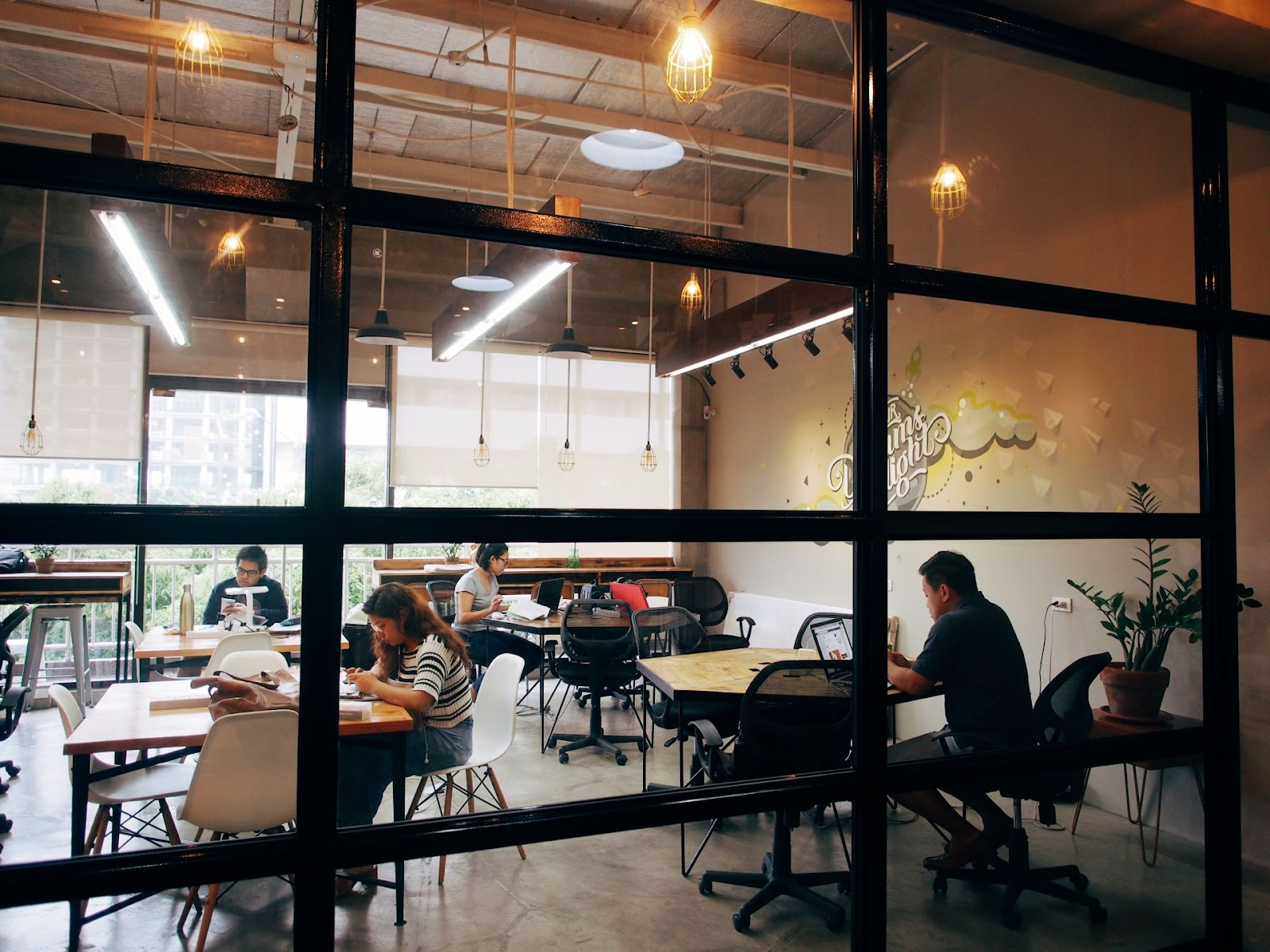 Launchpad Coworking Space in Manila