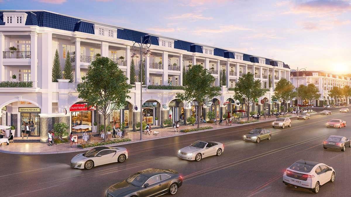 Thiết kế khu Shophouse Dự án Century City