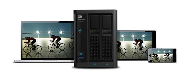 WD My Cloud EX2100 Chia Sẽ Dữ Liệu Online
