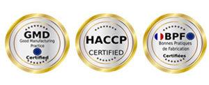 Des produits de qualité, contrôlés et certifiés