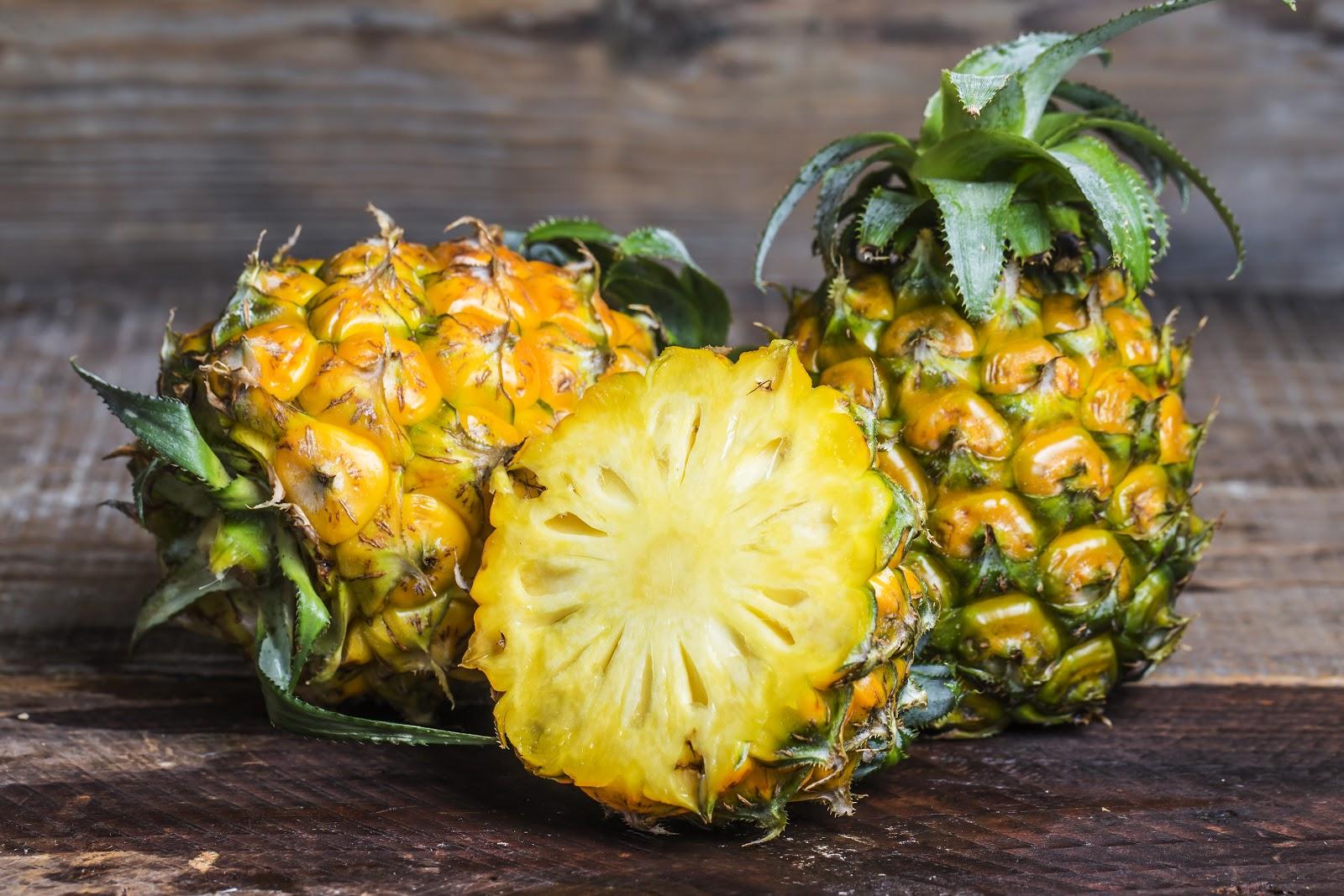 ananas - spaľujú tuky