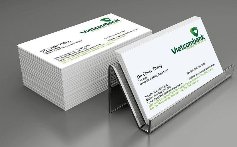 Đơn vị cung cấp dịch vụ in name card giá rẻ tại TP.HCM