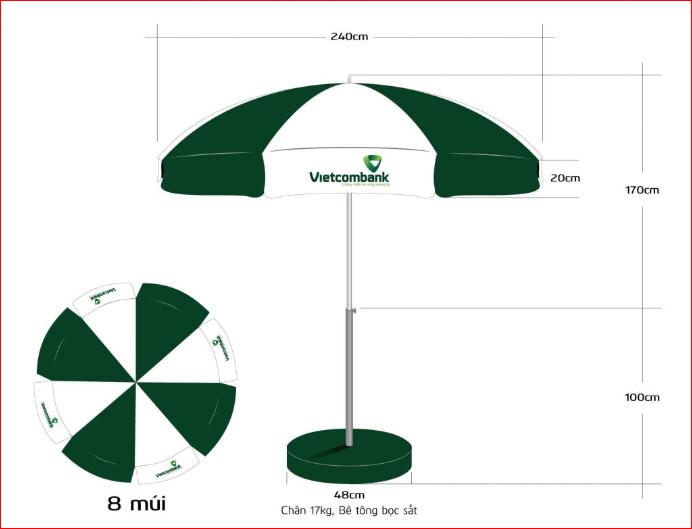 Chọn mua ô dù quảng cáo ở đâu uy tín?