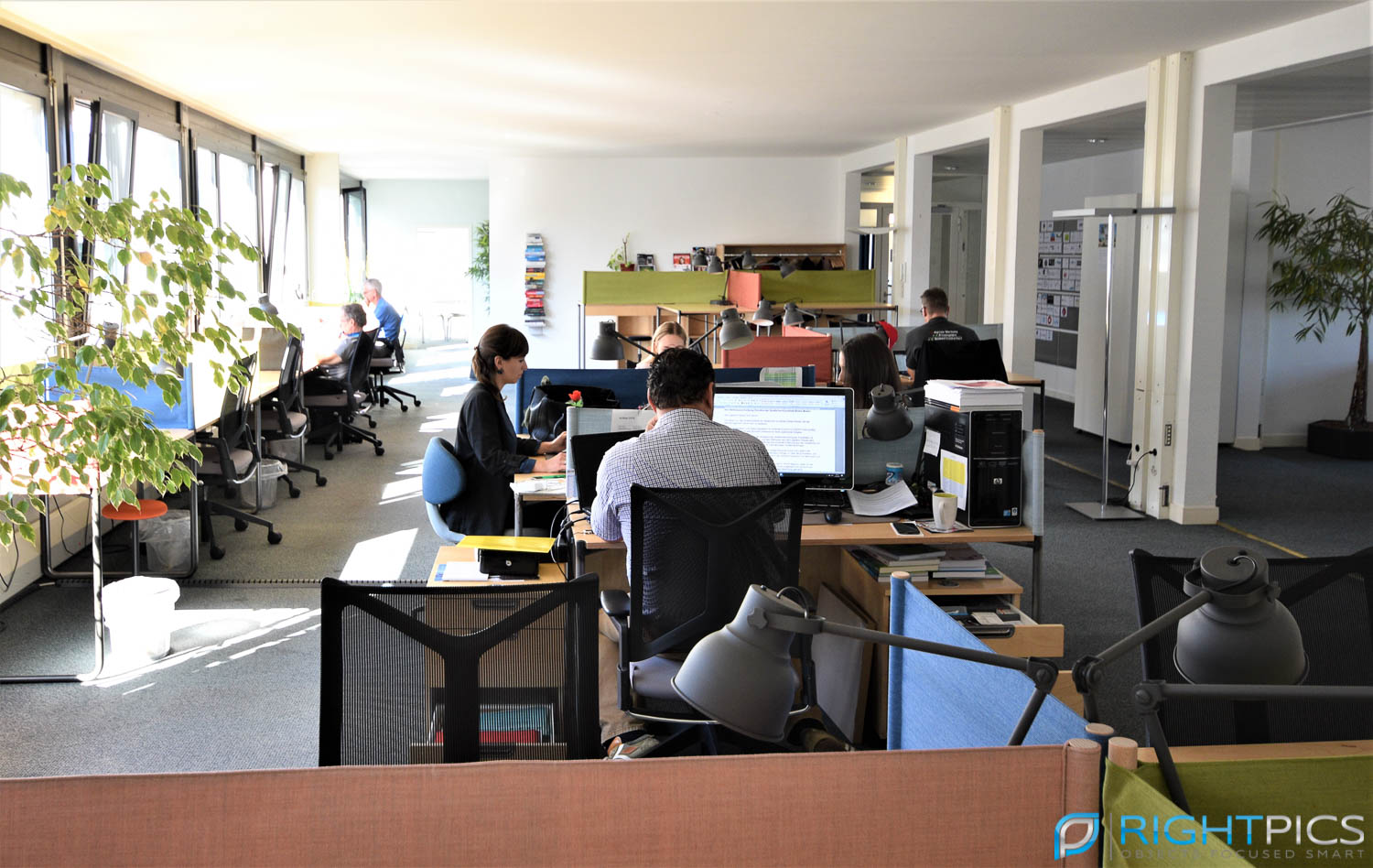 Impression of coworking space Startup Academy Basel