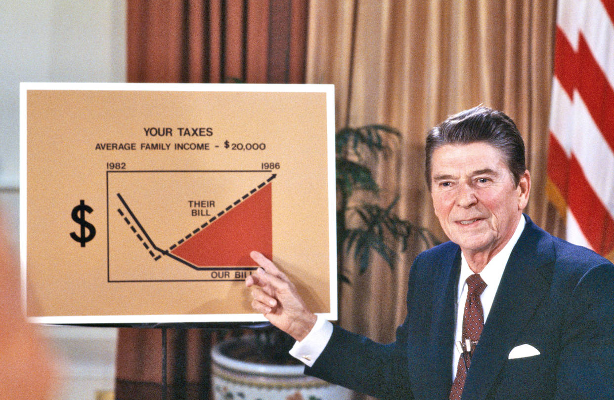 Reagan Cut Taxes, Revenue Boomed - WSJ