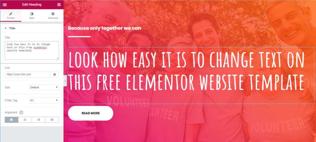 Free Elementor Template Pack