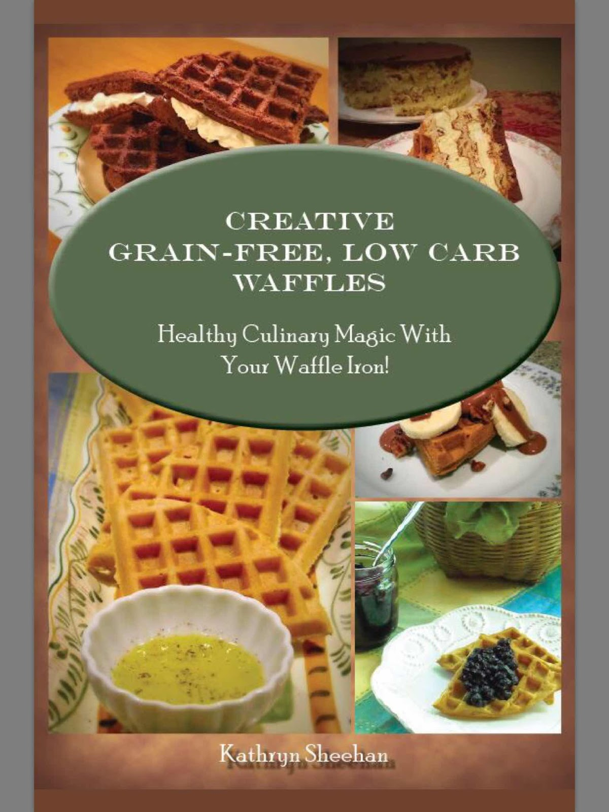 Creative Grain-Free, Low Carb Waffles