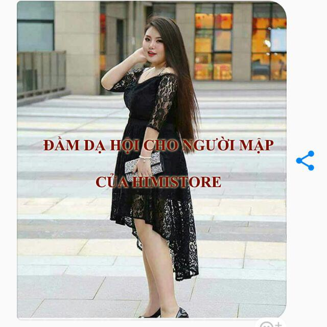 Đầm dạ hội cho người mập tại Himistore