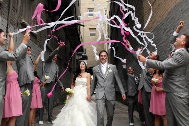 粉紅色婚禮 心幸福 婚禮小物