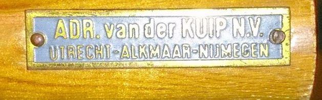 Adr. van der Kuip, Utrecht, Alkmaar, Nijmegen