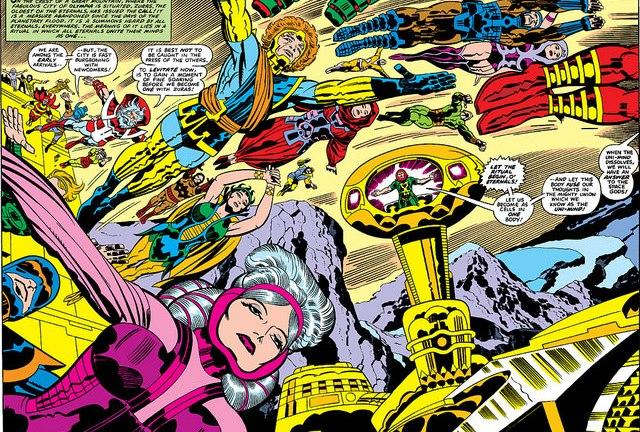 Marvel's Eternals Movie: Cast, Release Date, Story, and News - Den of Geek