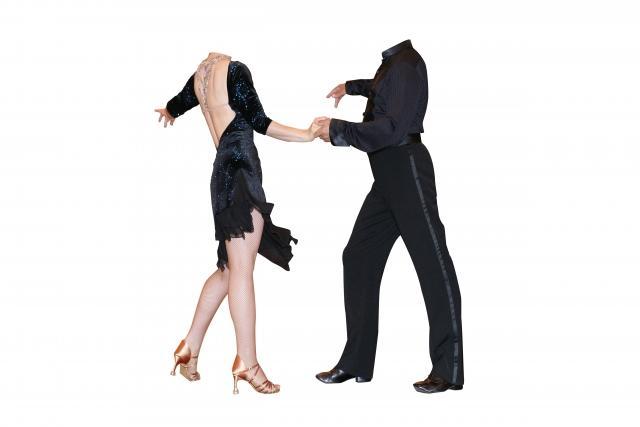 社交ダンスの踊り
