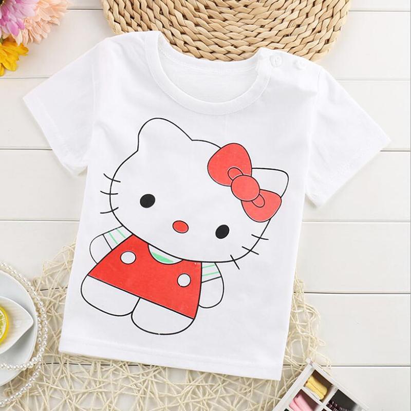 Białe t-shirty dla dzieci