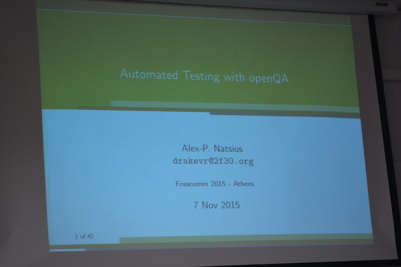 Automated Testing, openQA