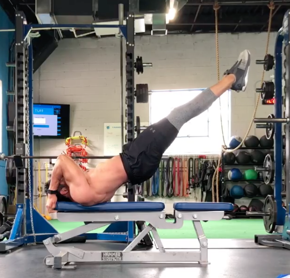 Try This Dragon Flags Abs Workout Challenge - Core Exercises