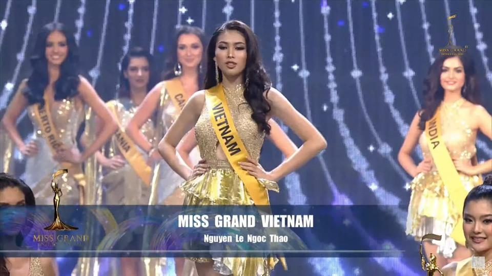 Á hậu Ngọc Thảo dừng chân Top 20 Miss Grand International 2020 | Tin tức  mới nhất 24h - Đọc Báo Lao Động online - Laodong.vn