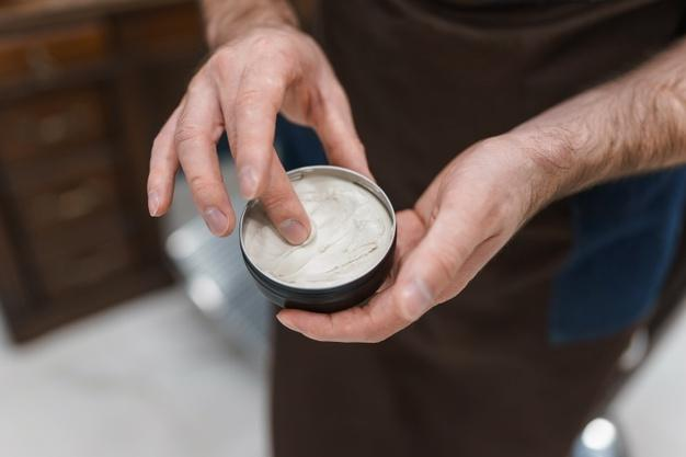 Pomade to hair styling  Use Hair Gel