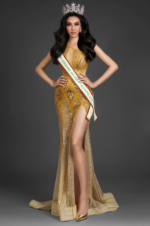 Nguyễn Thúc Thùy Tiên tham gia Miss Grand International 2021