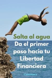 Salta al agua - Libertad financiera