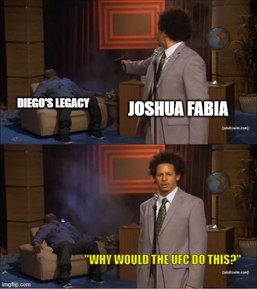Diego Sanchez and Joshua Fabia meme