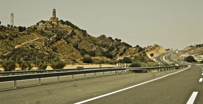Highway in Spain