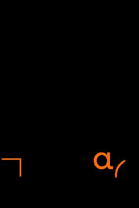 Площадь прямоугольного треугольника по катету и прилежащему углу