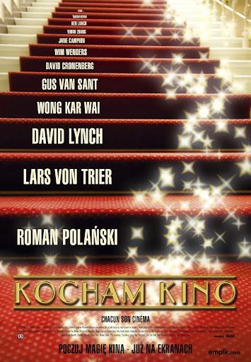 Polski plakat filmu 'Kocham Kino'